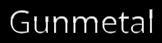 Font Open Sans Gunmetal Logo Preview