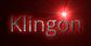 Font Open Sans Klingon Logo Preview
