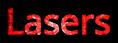 Font Open Sans Lasers Logo Preview