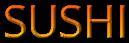 Font Open Sans Sushi Logo Preview