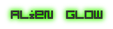 Font Optimal Alien Glow Logo Preview