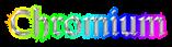 Font Orotund Chromium Logo Preview