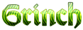 Font Orotund Grinch Logo Preview