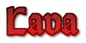 Font Orotund Lava Logo Preview