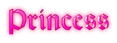 Font Orotund Princess Logo Preview