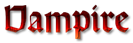 Font Orotund Vampire Logo Preview