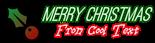 Font Ostrich Sans Christmas Symbol Logo Preview