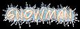 Font Paete Round Snowman Logo Preview