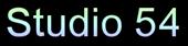 Studio 54 Logo Style