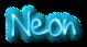 Font !PaulMaul Neon Logo Preview