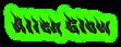 Font Phoenix Alien Glow Logo Preview