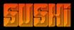Font Pincoya Black Sushi Logo Preview