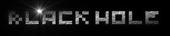 Font Pixel 4x4 Black Hole Logo Preview