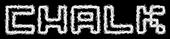 Font Pixel 4x4 Chalk Logo Preview