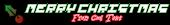 Font Pixel 4x4 Christmas Symbol Logo Preview