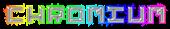 Font Pixel 4x4 Chromium Logo Preview