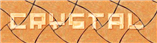 Font Pixel 4x4 Crystal Logo Preview