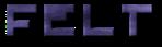 Font Pixel 4x4 Felt Logo Preview