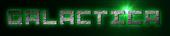 Font Pixel 4x4 Galactica Logo Preview
