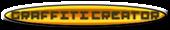 Font Pixel 4x4 Graffiti Creator Button Logo Preview