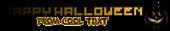 Font Pixel 4x4 Halloween Symbol Logo Preview
