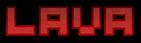 Font Pixel 4x4 Lava Logo Preview