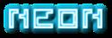 Font Pixel 4x4 Neon Logo Preview