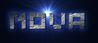 Font Pixel 4x4 Nova Logo Preview