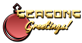 Font Pixel 4x4 Seasons Greetings Logo Preview