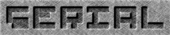 Font Pixel 4x4 Serial Logo Preview