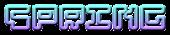 Font Pixel 4x4 Spring Logo Preview