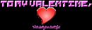 Font Pixel 4x4 Valentine Symbol Logo Preview