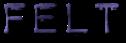 Font Plastique Felt Logo Preview