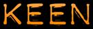Font Plastique Keen Logo Preview