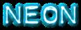Font Plastique Neon Logo Preview