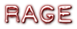 Font Plastique Rage Logo Preview
