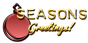 Font Plastique Seasons Greetings Logo Preview