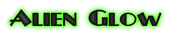 Font Plug NickelBlack Alien Glow Logo Preview