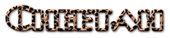 Font Plug NickelBlack Cheetah Logo Preview