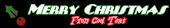 Font Plug NickelBlack Christmas Symbol Logo Preview