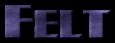 Font Plug NickelBlack Felt Logo Preview