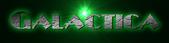 Font Plug NickelBlack Galactica Logo Preview