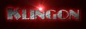 Font Plug NickelBlack Klingon Logo Preview
