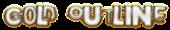 Font Polaroid 22 Gold Outline Logo Preview