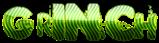 Font Polaroid 22 Grinch Logo Preview