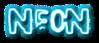 Font Polaroid 22 Neon Logo Preview