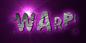 Font Polaroid 22 Warp Logo Preview