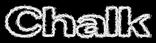 Chalk Logo Style