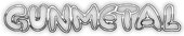 Font Poo Gunmetal Logo Preview