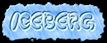 Font Poo Iceberg Logo Preview